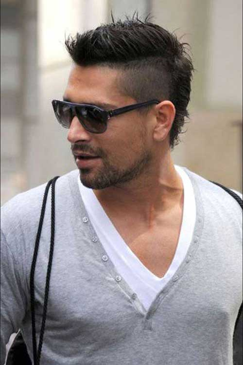 Mohawk Hairstyle Men Mens Hairstyles