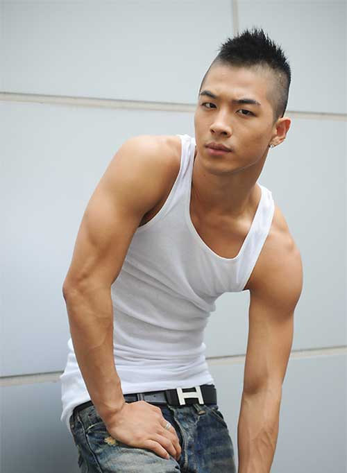 Taeyang Mohawks Hairstyles for Men