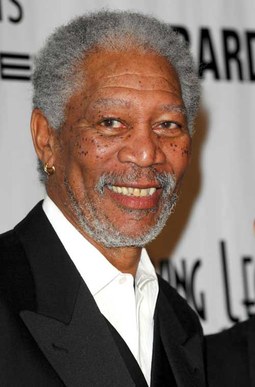 Morgan Freeman Older Men Style