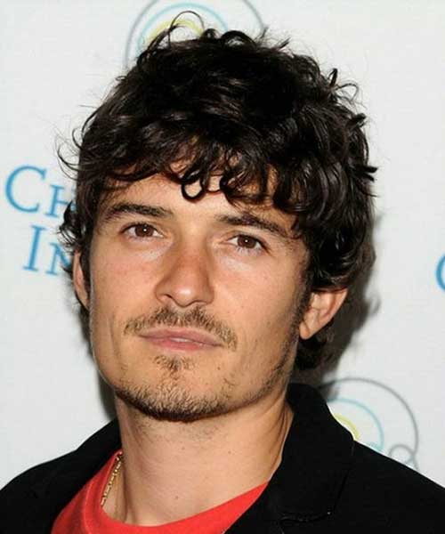 Orlando Bloom Curly Hairstyle