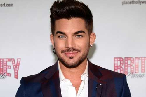 Adam Lambert Pompadour Haircuts for Men