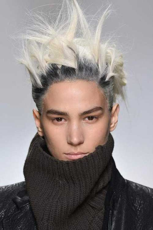 Punk Messy Hairstyles Men