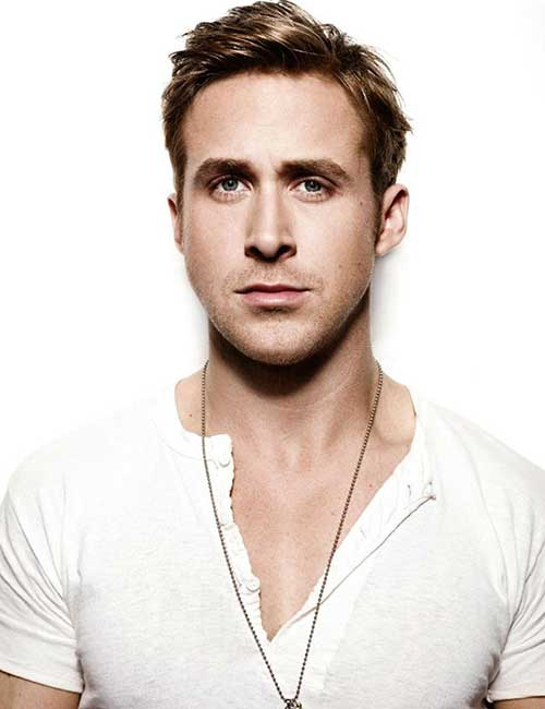 Ryan Gosling Short Messy Hair