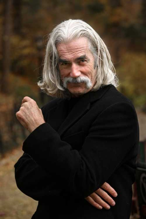 Sam Elliott Hairstyle for Men