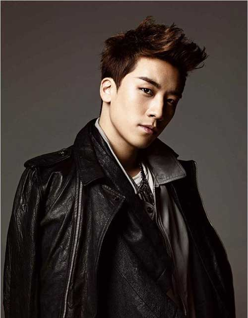 Seungri Hairstyles for Asian Guys