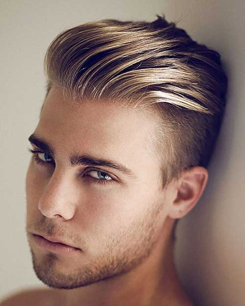 Hairstyle Men Shaved Hair
