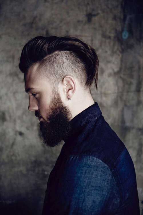 Shaved Men Haircuts for 2015 Trends