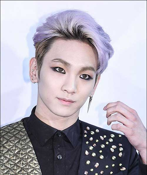 Shinee Key Mens Hair Color Ideas