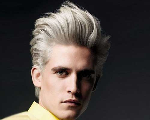 Short Blonde Trendy Hairstyles for Men