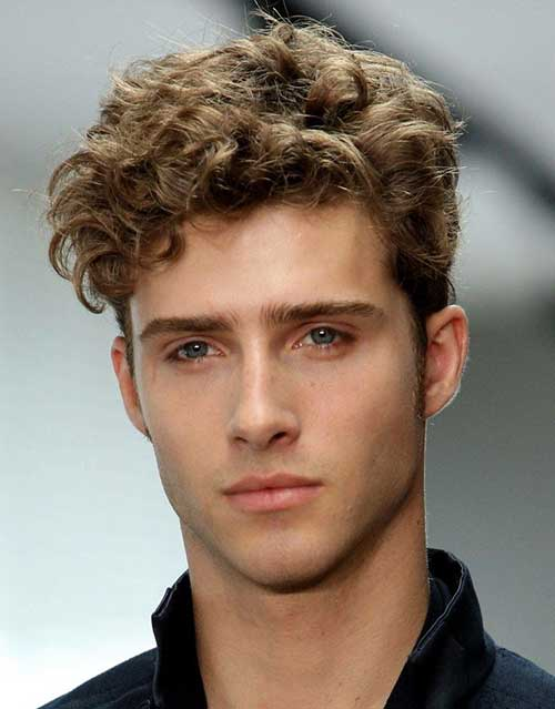 Trendy Curly Hair Men
