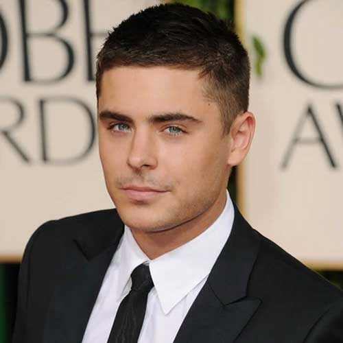Zac Efron Short Hair Styles For Men