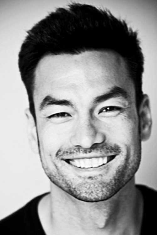 David Lee McInnis Best Short Hairstyles for Asian Men