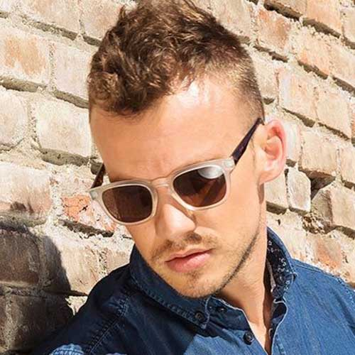 Hairstyles For Short Receding Hair : 10 Messy Hairstyles for Guys Mens Hairstyles 2016