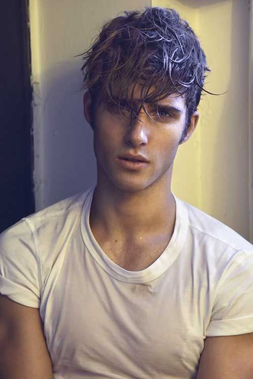 10 Guys with Messy Hair | Mens Hairstyles 2018