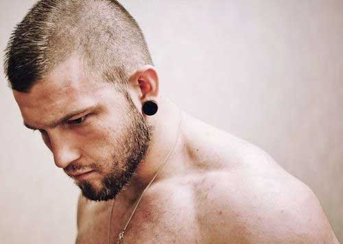 Short Mohawk Men Hairstyles for Men