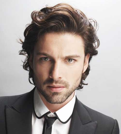 Incredible 16 Haircuts For Wavy Hair Men Mens Hairstyles 2016 Short Hairstyles For Black Women Fulllsitofus