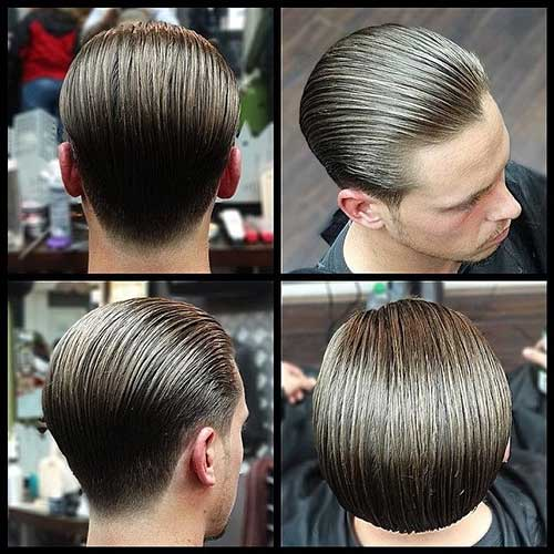 Slicked Back Comb