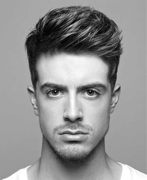 Straight Trendy Men Hairstyles for Men