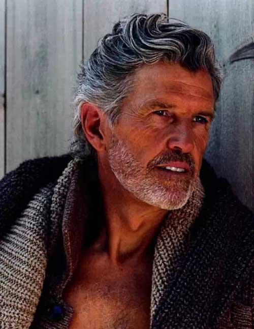 Best Style for Older Men Hairstyles