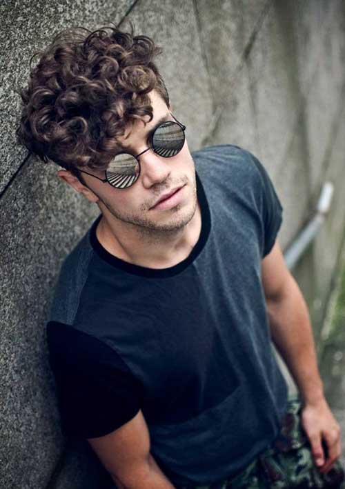 Cool 10 Thick Curly Hair Men Mens Hairstyles 2016 Hairstyles For Women Draintrainus
