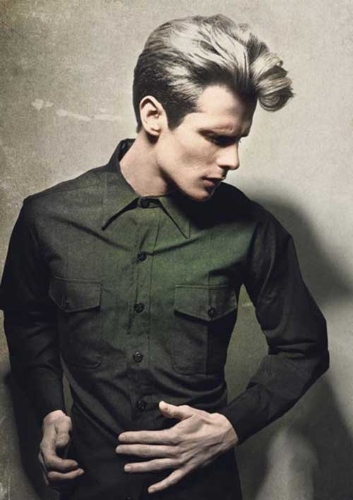 Thick Style Men's Hair