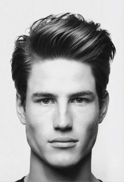 Thick Straight Hairstyles For Men