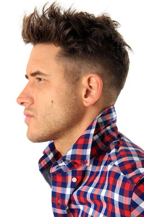 Thicker Hairstyles for Men