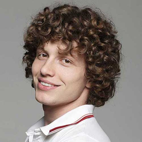 Surprising 20 Curly Hairstyles For Boys Mens Hairstyles 2016 Hairstyles For Men Maxibearus