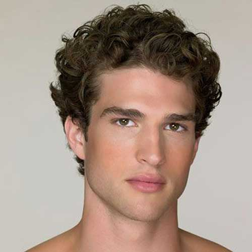 Short Curly Hairstyles for Men-10