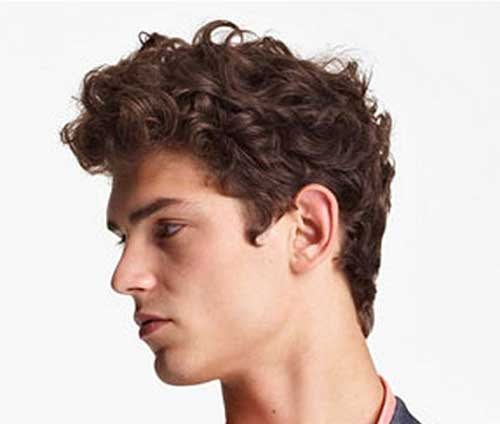 Awe Inspiring 20 Curly Hairstyles For Boys Mens Hairstyles 2016 Hairstyles For Men Maxibearus