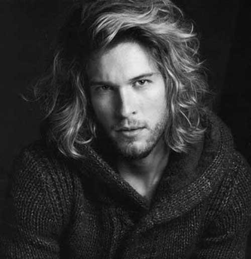 Hairstyles for Men with Long Faces-13