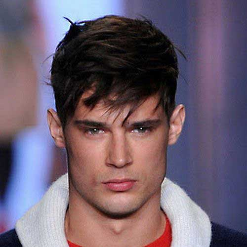 Hairstyles for Men with Long Faces-14