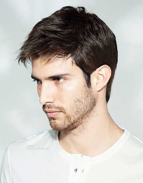 Galerry mens hairstyle hot