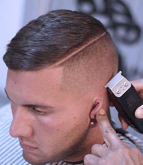 Shaved Hairstyles for Men-14