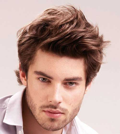 Magnificent 15 Hairstyles For Men With Round Faces Mens Hairstyles 2016 Short Hairstyles For Black Women Fulllsitofus