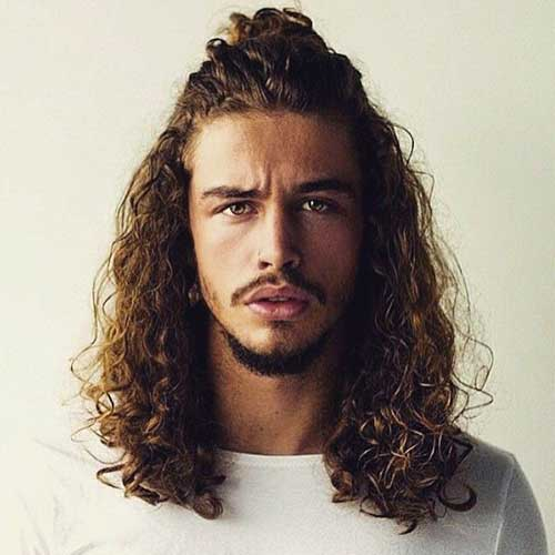 Long Hairstyles Men-16