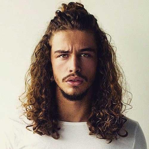 Long Hairstyles Men-16