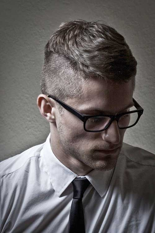 Cool Short Haircuts for Guys-21