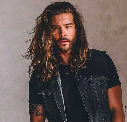Long Hairstyles Men-24