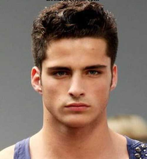 Hairstyles for Men with Round Faces-6
