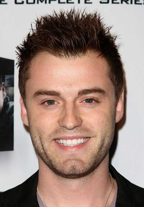 Hairstyles for Men with Round Faces-7