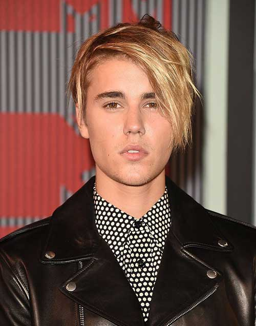 Justin Bieber With Blonde Hair-8