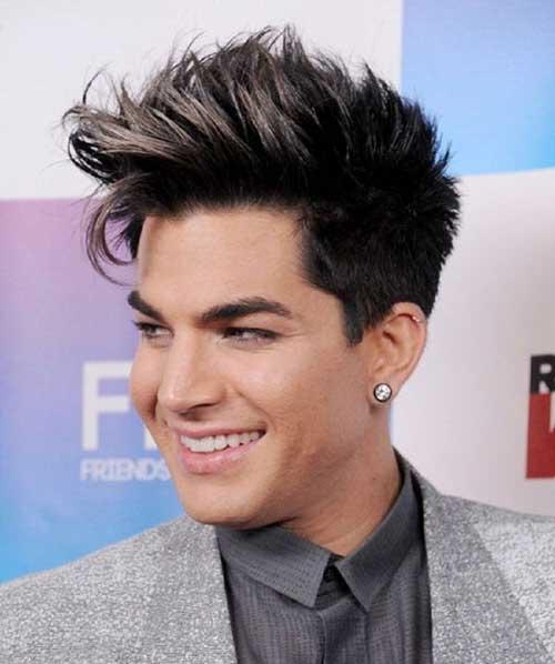 Adam Lambert Celebrity Hairstyle