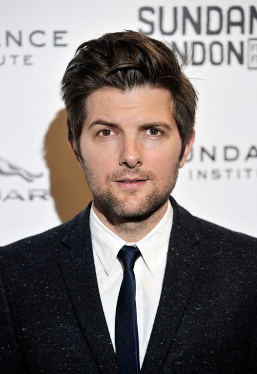 Adam Scott Celebrity Men Hair