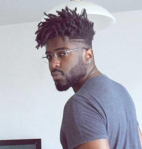 Black Men Haircut