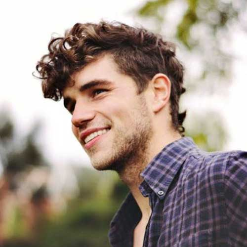 Curly Hairstyles Boys Mens
