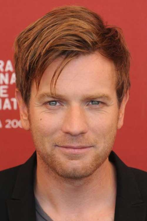 Ewan Mcgregor Celebrity Hairstyles Mens