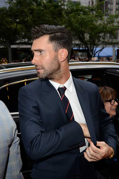 Adam Levine Celebrity Men Hairstyles