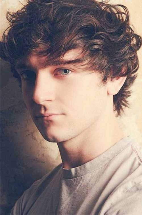 Surprising 20 Curly Hairstyles For Boys Mens Hairstyles 2016 Short Hairstyles Gunalazisus