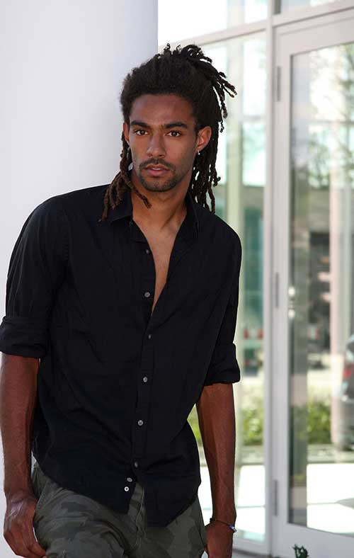 Dustin Brown Hairstyles for Black Men